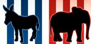 donkey and elephant presidential election